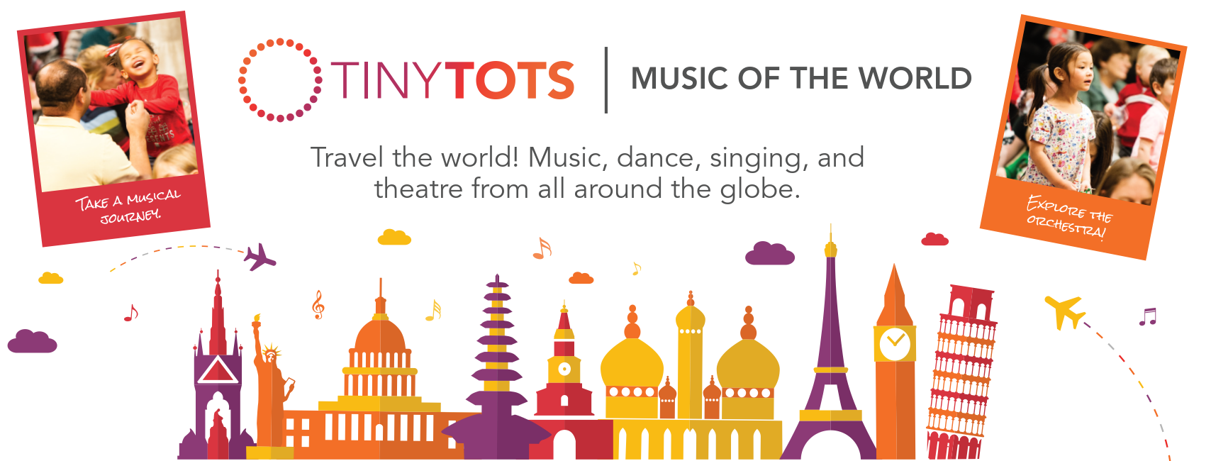 Travel the Musical World this February at Tiny Tots: Music of the World